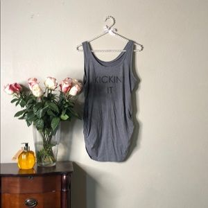 Mother hood maternity tank top